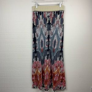 Anthropologie Vanessa Virginia Multicolor Skirt